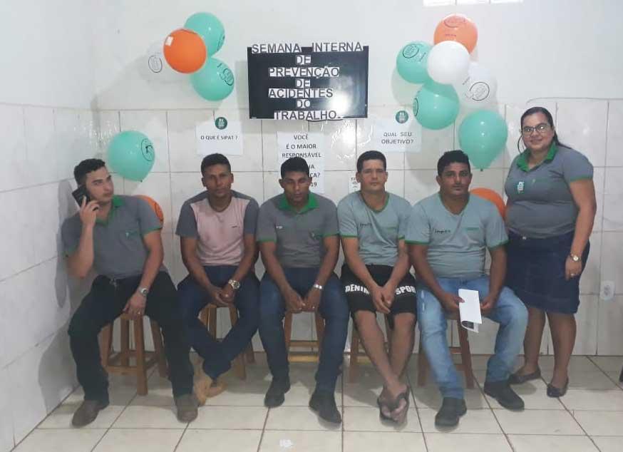 Sipat teve a participação dos funcionários da central de Campo Novo dos Parecis (MT)